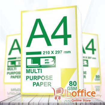 LB Multi Purpose Paper - A4 80gsm 430sheets