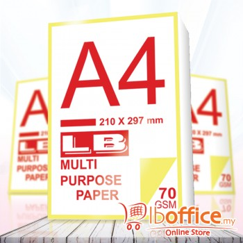 LB Multi Purpose Paper - A4 70gsm 430sheets