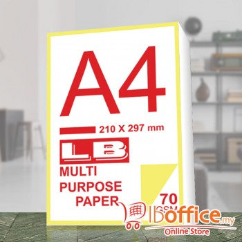 LB Multi Purpose Paper - A4 70gsm - 430sheets