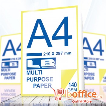 LB Multi Purpose Paper - A4 140gsm 500sheets