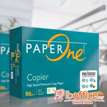 PaperOne Copier Paper - A4 80gsm - 500sheets - 1ream