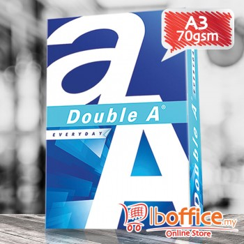 Double A Paper - A3 70gsm - 500sheets - 1ream