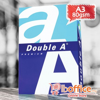 Double A Paper - A3 80gsm - 500sheets - 1ream