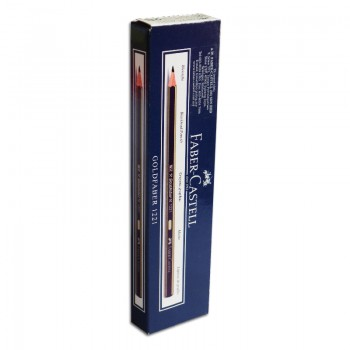 Faber Castell Gold Faber 1221 Pencil 2B - 12psc of box