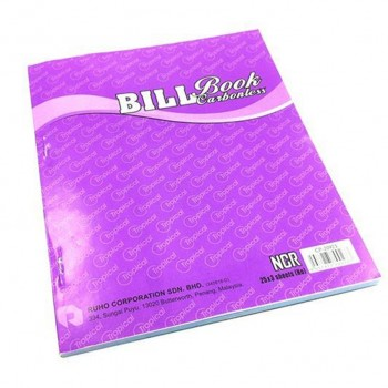 Bill Book CP-20923 25 Sheets x 3 Ply NCR - 18cmx15cm