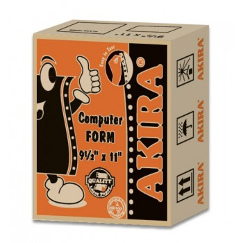 "Akira Orange Ncr 3Ply W 9.5"" X 11"" (300Fans 2Up)"